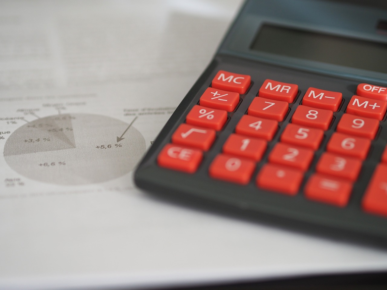 calculator used for accounting services